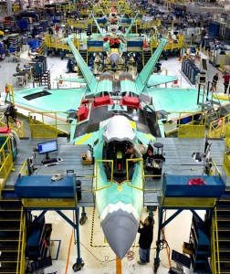 F-22 Welding Assembly Line
