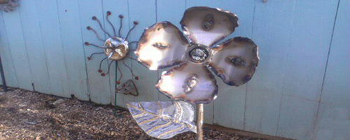 Welded Flower for Newsletter WordPress