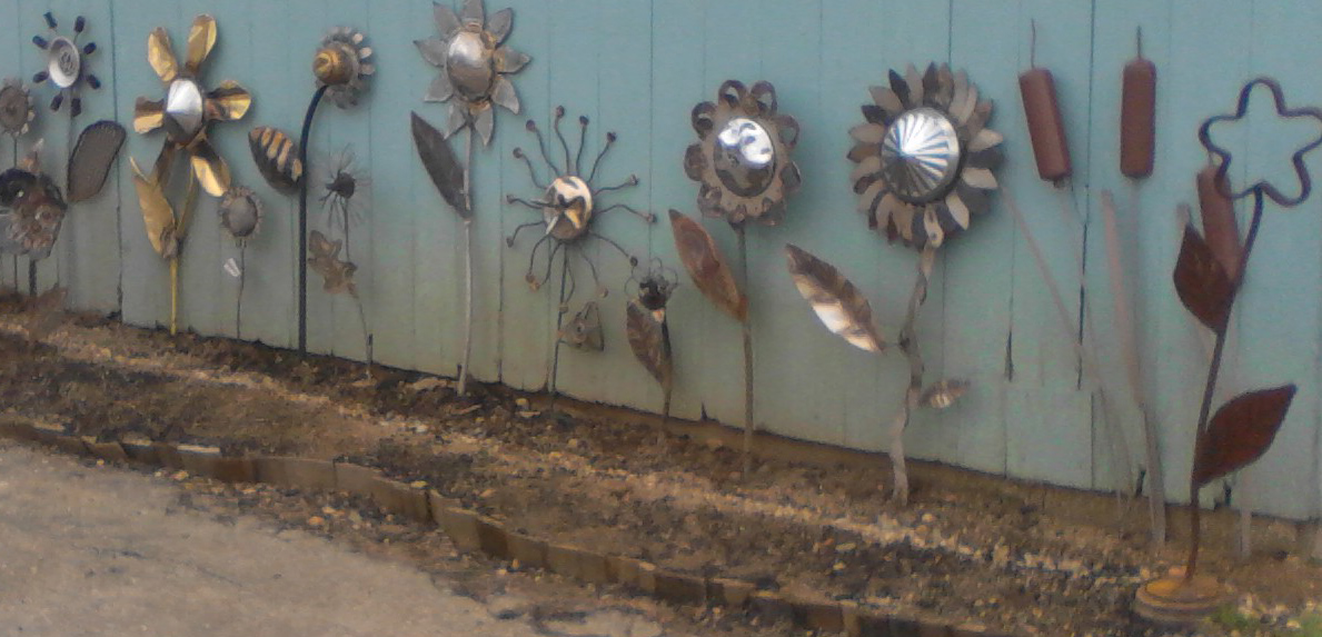 Welded Flowers for blog