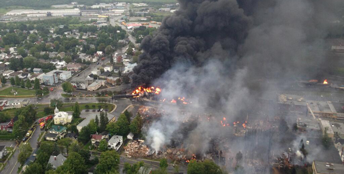 The Lac-Mégantic rail disaster in July 2013 was the deadliest train accident in Canada since 1864. The devastation caused by the explosion of several tank cars prompted the Canadian government to mandate the phasing out or retrofitting of the older DOT-111 tank cars.