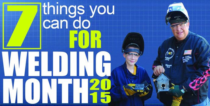 Welding Month 2015 Blog Image