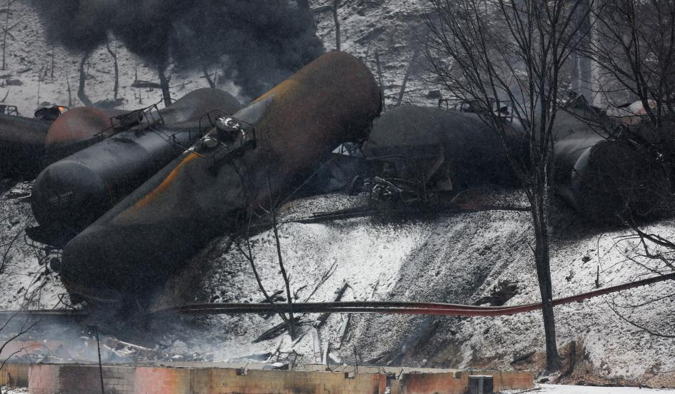Industry experts are trying to sort out the cause(s) behind the recent spate of derailments, including a particularly devastating derailment in Virginia in 2014 and the February 2015 crash depicted here.