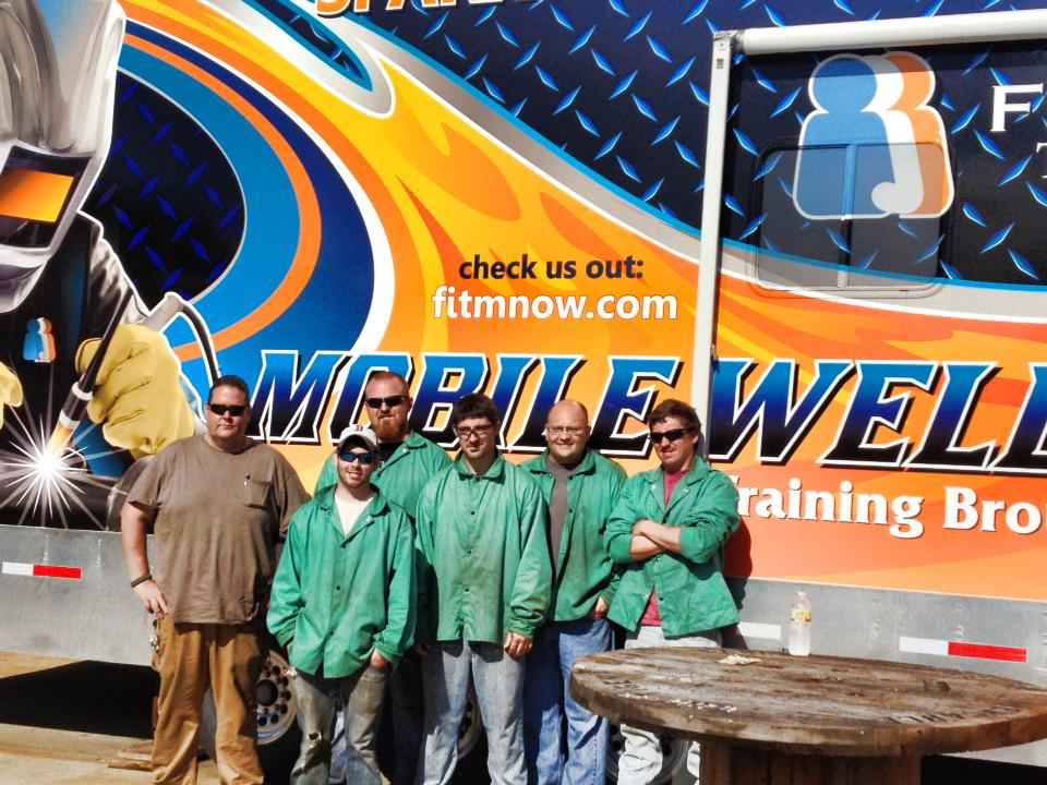 Welding on Wheels Graduates