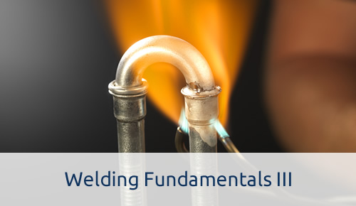 Welding Fundamentals III