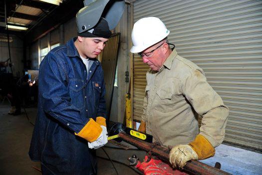 Welding Instructor-Welding Student-Education-Pipefitter