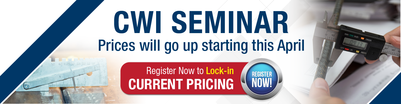 Register for the CWI Seminar Today!