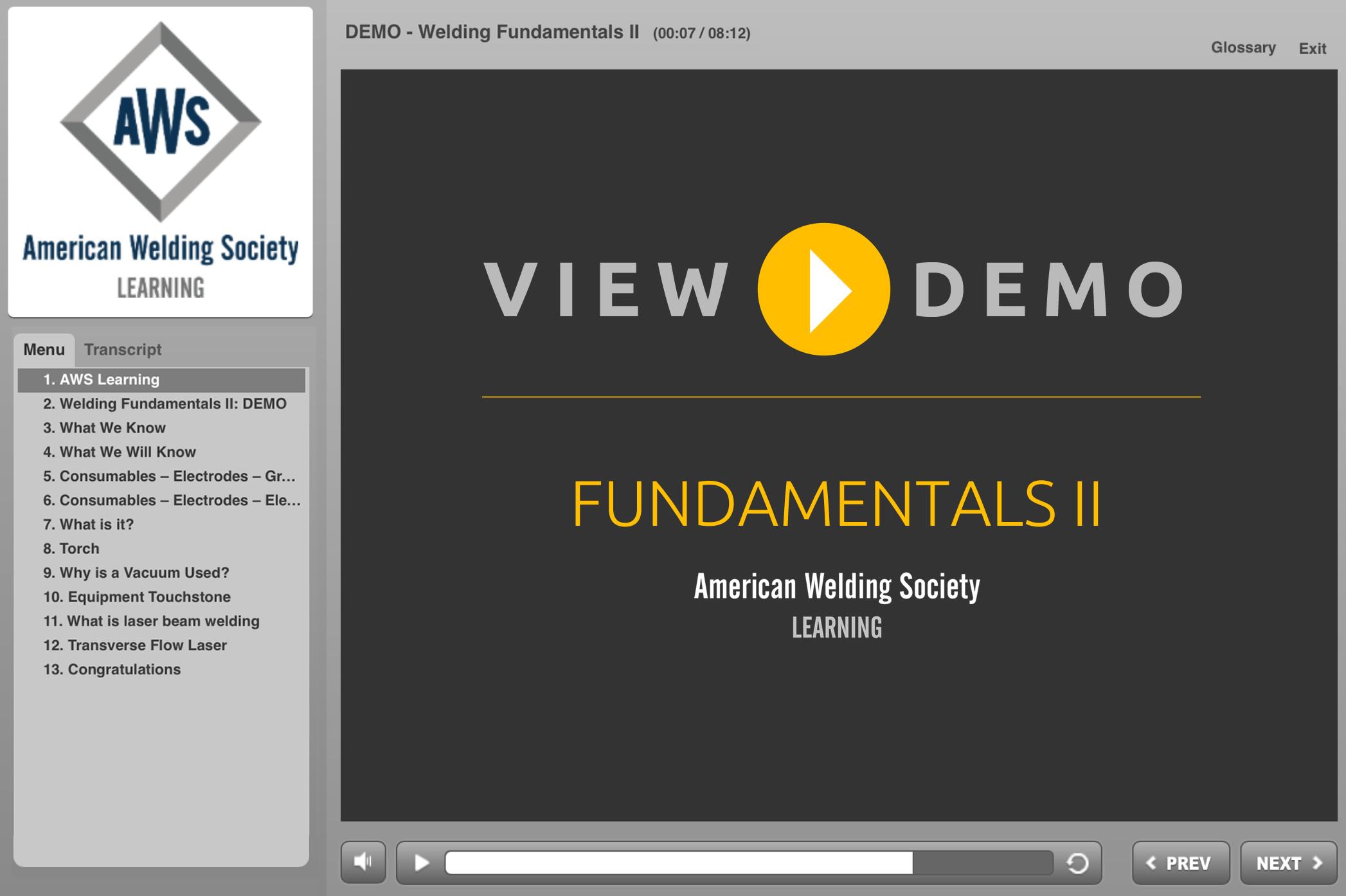 Welding Fundamentals II