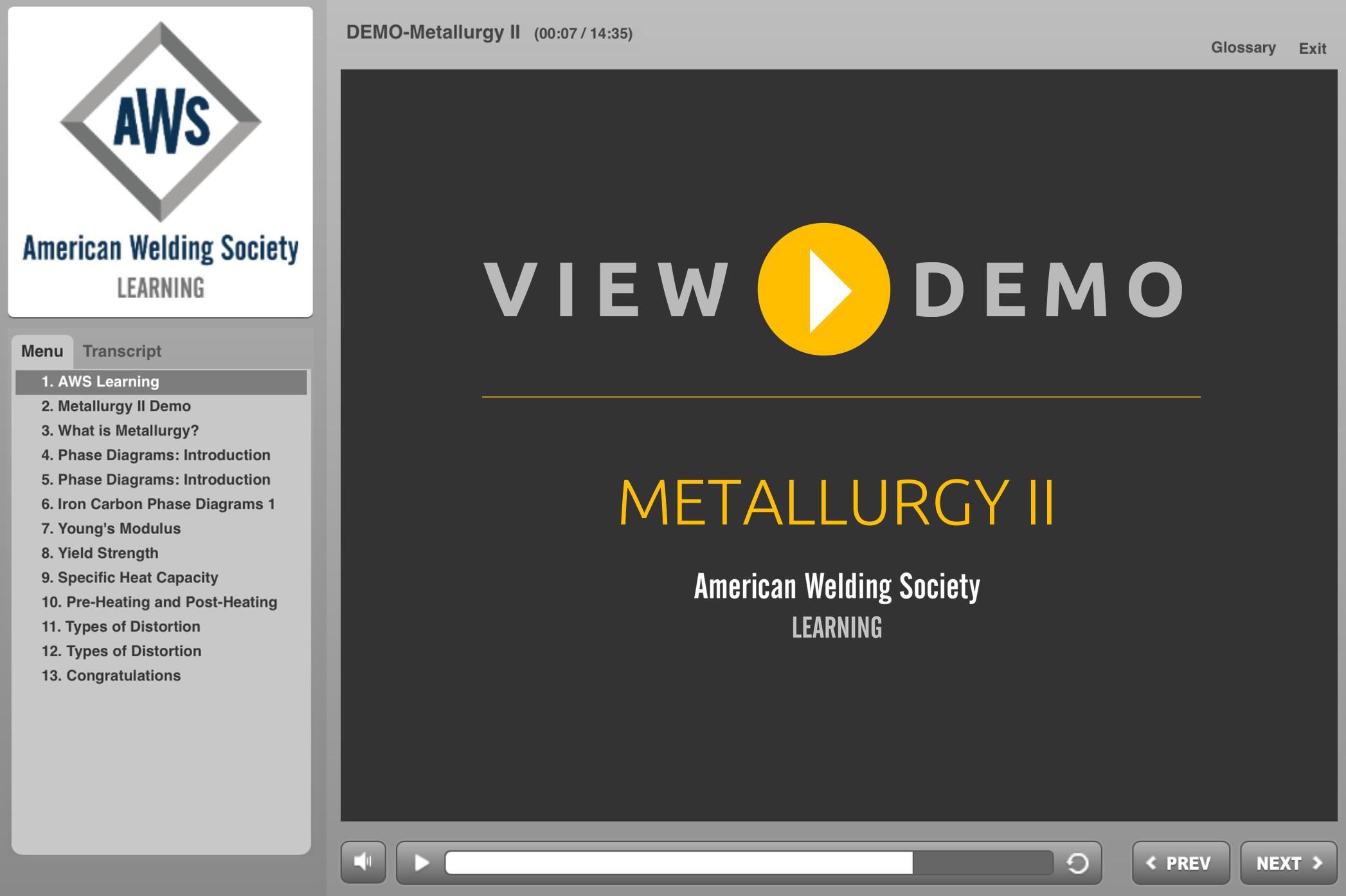 Metallurgy II