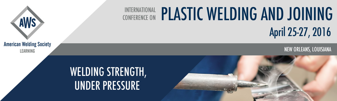 2016 Plastics Welding & Joining Conference