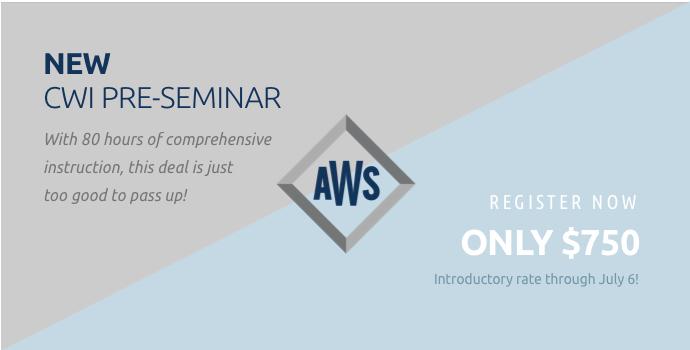 New CWI Pre-Seminar