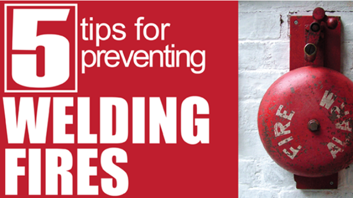 5 Tips for Preventing Welding Fires