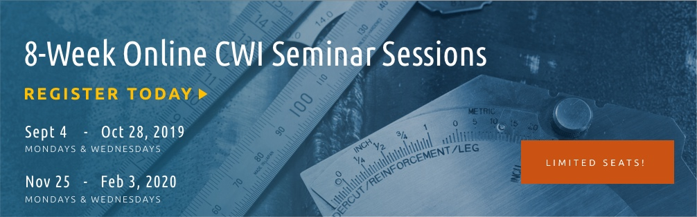 8 Week Online CWI Seminar