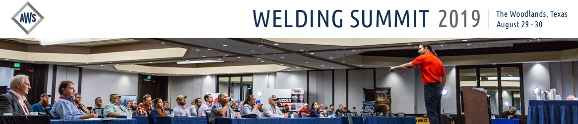 2019 AWS Welding Summit