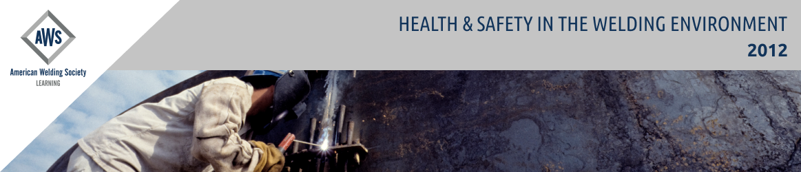Health & Safety in the Welding Environment