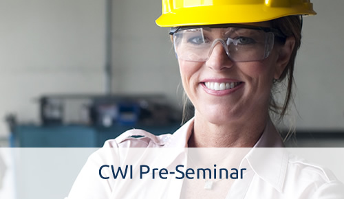 Certified Welding Instructor Pre-Seminar - Online Welding Education